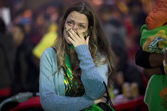 بعد از بازی برزیل - آلمان(عکس و فیلم)