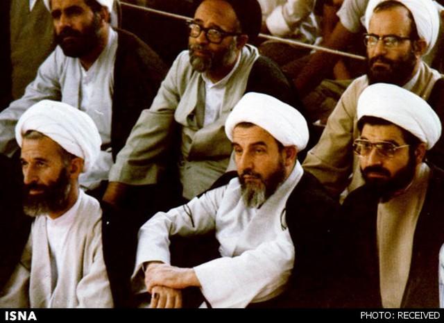 روحانی در کنار آیتالله محمدی گیلانی (+عکس)