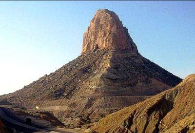 عجیب ترین کوه دنیا در ایران با خواص درمانی (+عکس)