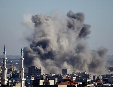106 شهید در 4 روز بمباران غزه توسط اسرائیل (به روز می شود)