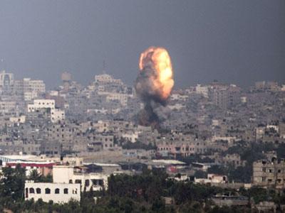 121 شهید در 5 روز بمباران غزه توسط اسرائیل (به روز می شود)