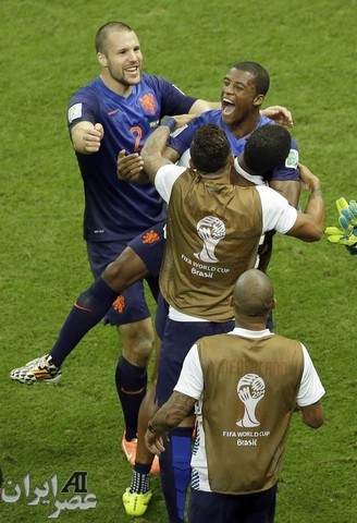 بازی برزیل - هلند (عکس)