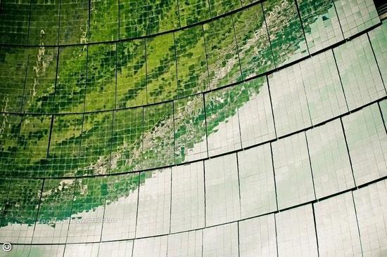 بزرگترین کوره خورشیدی دنیا (+عکس)
