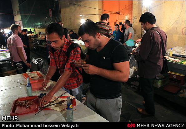 فلافل فروشی های بازار تهران (عکس)