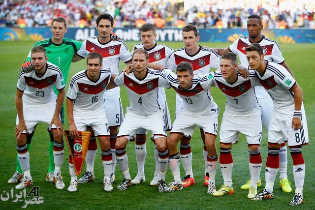 بازی فینال جام جهانی 2014؛ آلمان - آرژانتین (عکس)