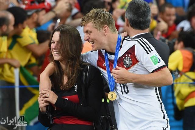 شادی بازیکنان  آلمان و همسرانشان (عکس)
