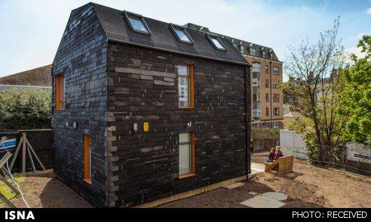 خانه زبالهای ساخته شد (+عکس)