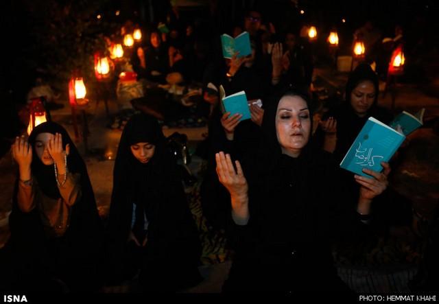 مراسم شب قدر در سراسر کشور (عکس)