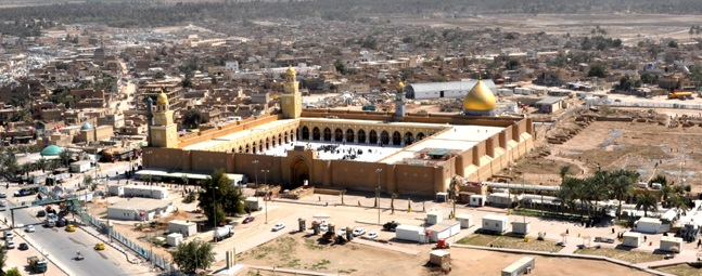 شب قدر در مسجد کوفه (ع )