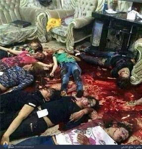 تصاویری از قتل عام داعش در یک مهمانی زنانه (18+)