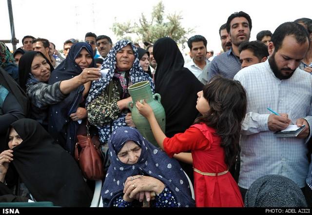 جشن شکرگزاری گندم در فراهان - استان مرکزی (عکس)