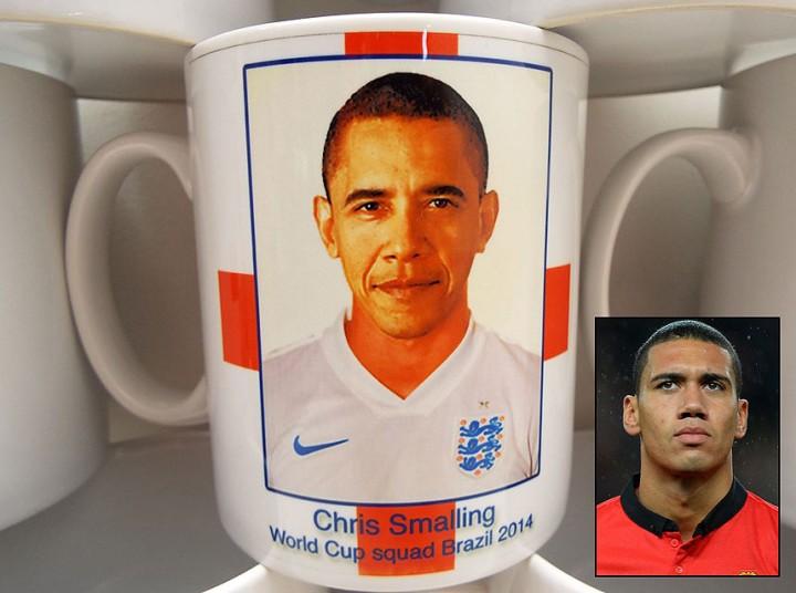 شباهت اوباما با یک بازیکن انگلیسی دردسر ساز شد(+عکس)