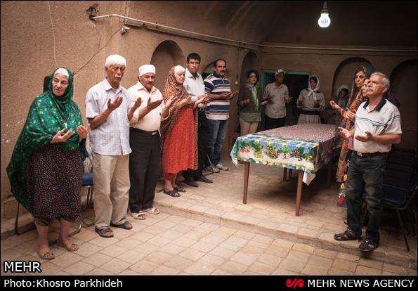 آیین سنتی پنجه زرتشتیان - یزد (عکس)