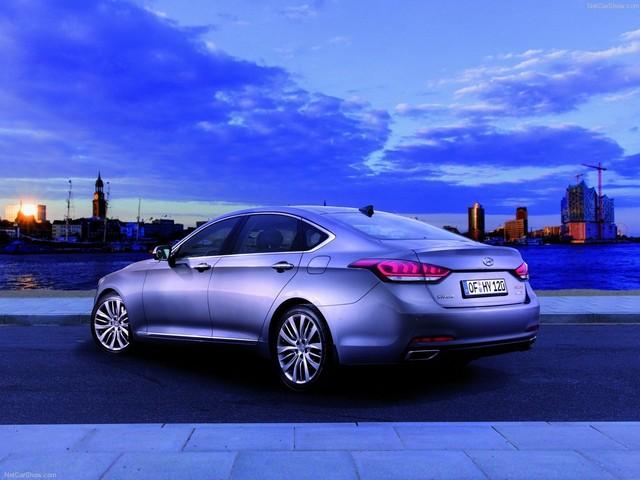 جنسیس ۲۰۱۵، برترین خودروی هیوندا (+عکس)