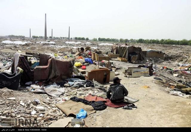 زاغه نشینی اتباع خارجی در جنوب تهران (عکس)