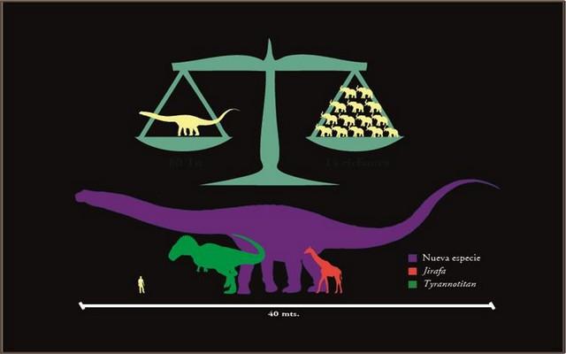 کشف فسیل بزرگترین دایناسور (+عکس)