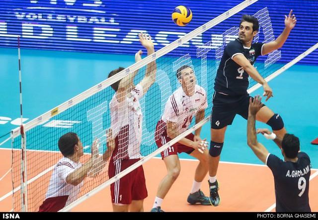 جدول لیگ جهانی والیبال گروه ایران