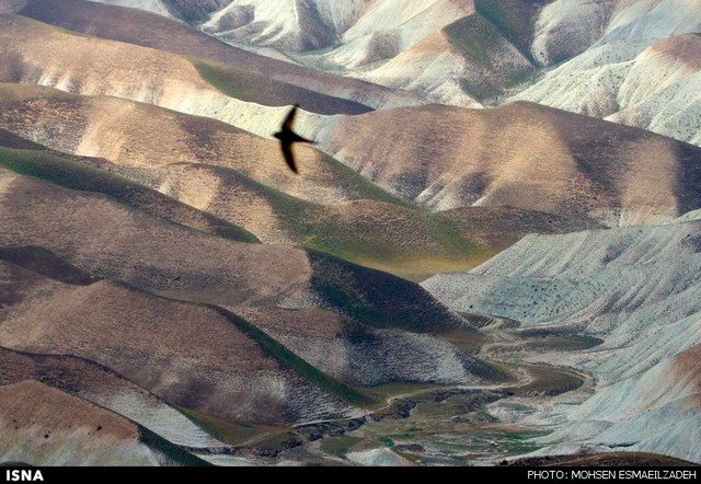 طبیعت زیبای کلات نادر - مشهد (عکس)