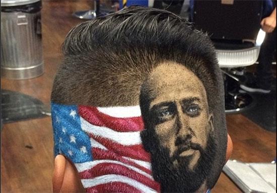 هنرنمایی جالب یک آرایشگر آمریکایی (+عکس)