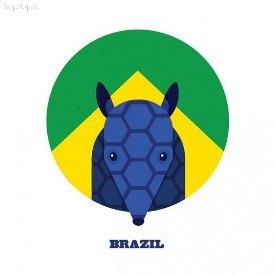 نماد 32 کشور جام جهانی (+عکس)