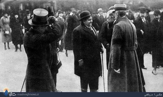احمدشاه در پاریس (عکس)