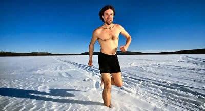 مرد یخی (+عکس)