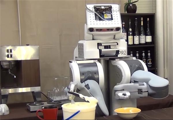 نخستین ربات آشپز در جهان (+عکس)