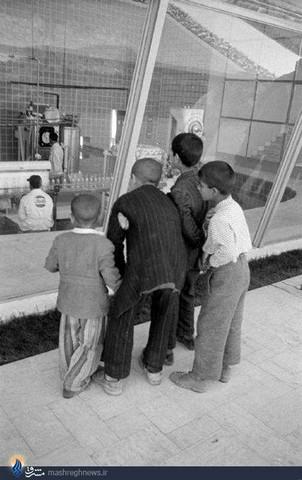 کارخانه پپسی تهران در سال 1335 (عکس)