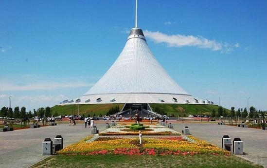 بزرگترین چادر دنیا در قزاقستان (+عکس)