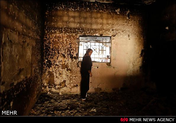 ویرانی بر جا مانده از جنگ غزه (عکس)