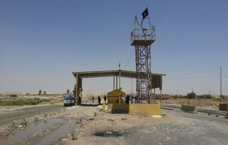 حمله جنگنده های آمریکا به داعش
