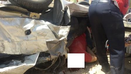 4 کشته در تصادف پژو و قطار در اراک