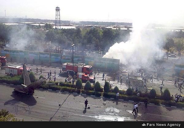 سقوط هواپيماي تهران طبس