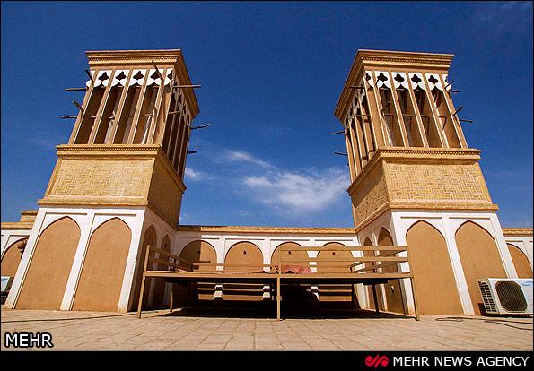تصاویری زیبا از بادگیرها و معماری در شهر یزد
