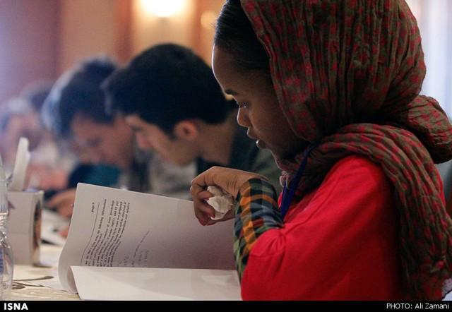 المپیاد بین المللی ریاضی، شیمی و آمار - شیراز (عکس)