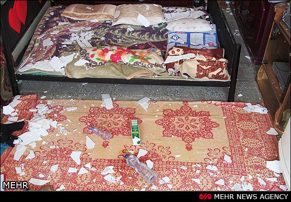 خسارات زلزله در آبدانان ایلام (عکس)