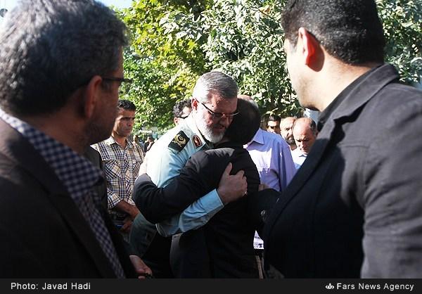 بازگشت سردار رویانیان با لباس پلیس (عکس)