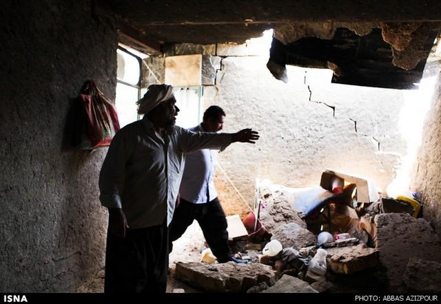 250 زخمی در زلزله آبدانان ایلام (+عکس)