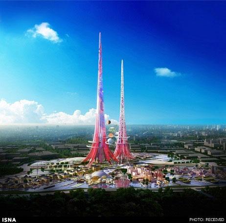 بلندترین برج زوج جهان (+عکس)