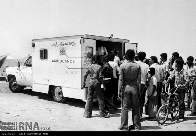 آتش سوزی در سینما رکس آبادان - سال 57 (عکس)