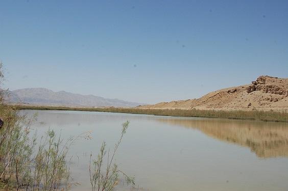 خشک شدن دریاچه هرمزگان