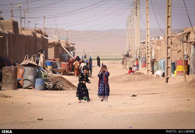گزارش تصویری / بازدید نماینده سازمان ملل از اردوگاه افغانی ها – ساوه