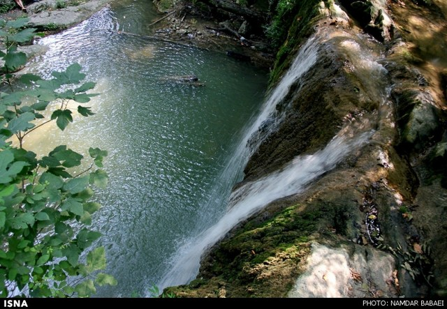 گزارش تصویری / طبیعت هفت آبشار در بابل – مازندران