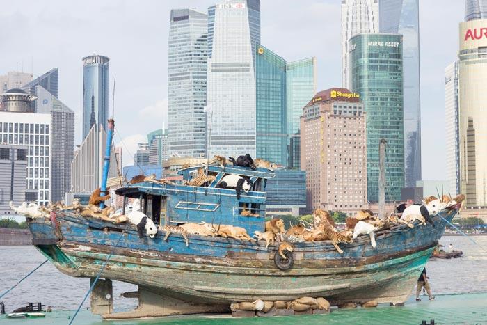 ساخت کشتی نوح در نیویورک (+عکس)