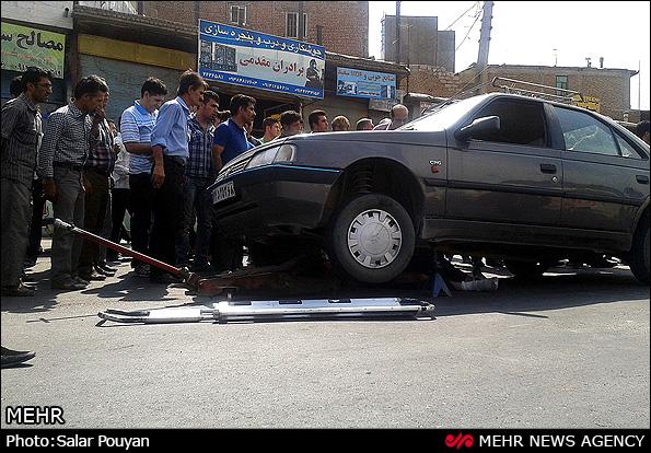 گروه تلگرام 206 تصادف در جاده ترانزیت میانه آذربایجان (عکس)