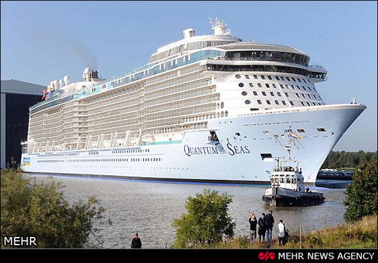 سومین کشتی بزرگ تفریحی جهان (عکس)