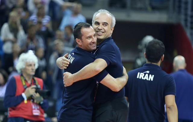 حاشیه هایی از بازی والیبال ایران و آمریکا (عکس)