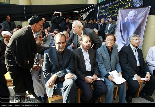 تشییع پیکر کاتوزیان، پدر علم حقوق (عکس)
