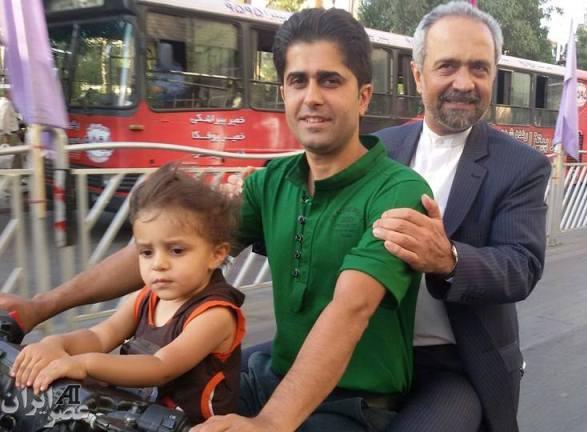 رئیس دفتر رئیس جمهور ترک موتور در مشهد (عکس)