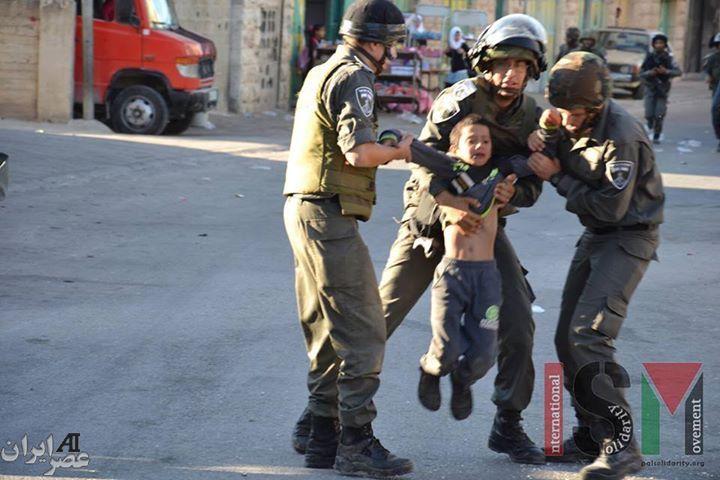 عملیات مقتدرانه ارتش اسرائیل در بازداشت تروریست فلسطینی! (عکس)